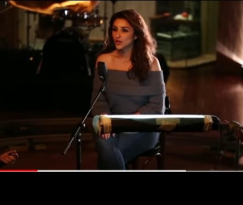 I am looking for the same top which parineeti is wearing - SeenIt