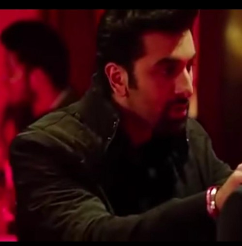Pls help me find this High Collar standing cool jacket which Ranbir is wearing in Tamasha - SeenIt