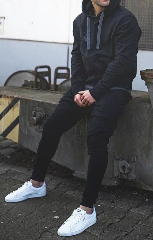 this hoddie, jeans and shoes. - SeenIt