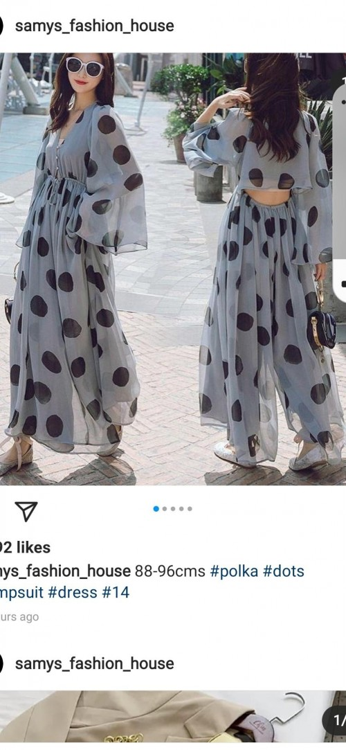 I need same outfit the polka dot dress - SeenIt