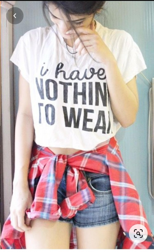 looking for this shirt and crop tee - SeenIt