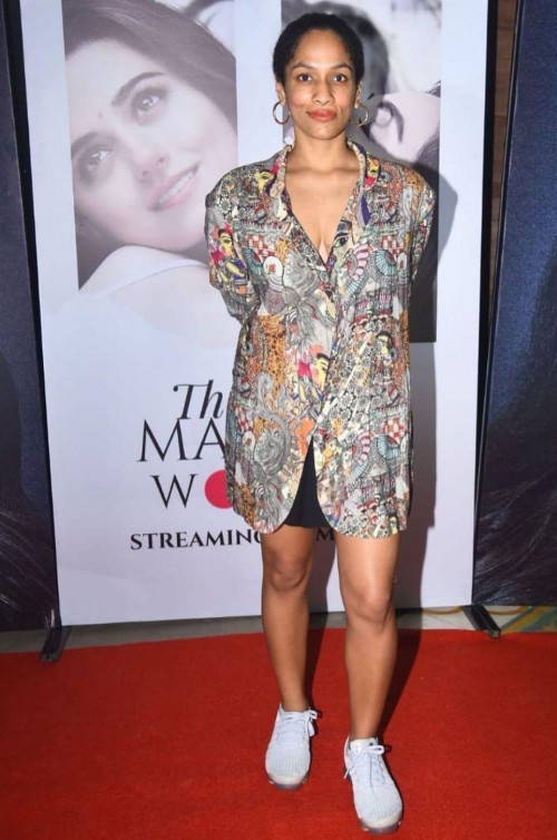 Yay or nay? Masaba Gupta attends the Screening of Married women held recently - SeenIt