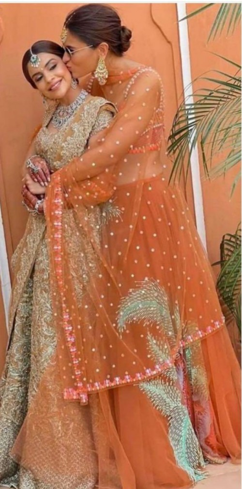 Looking for a similar lehenga outfit online like Alia Bhatt is seen wearing  - SeenIt