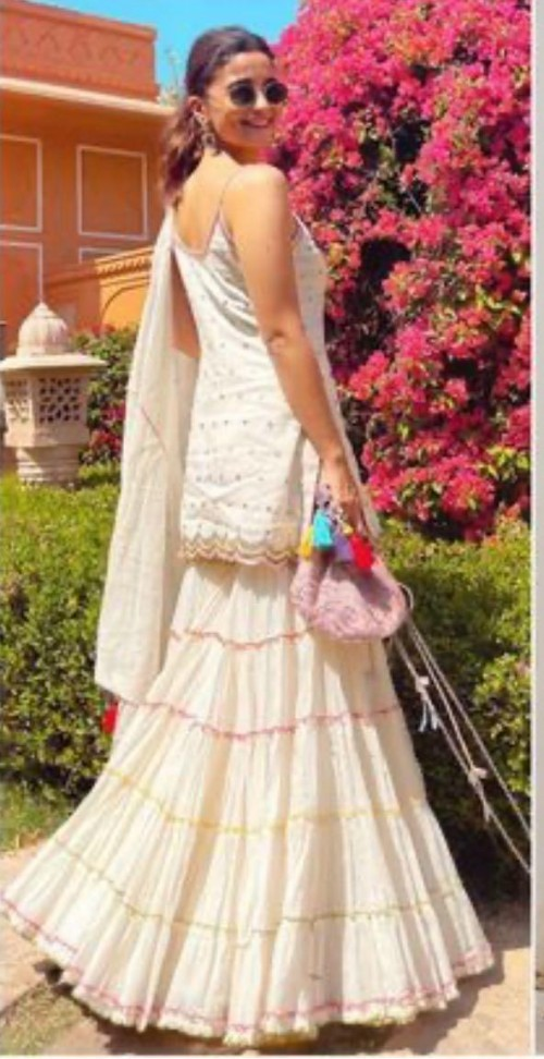 Alia Bhatt's white sharara set please  - SeenIt