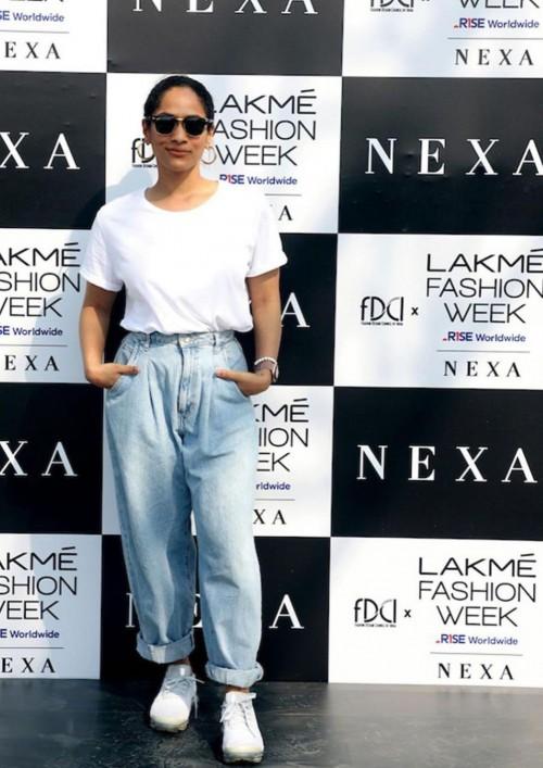 Yay or nay? Masaba Gupta attends the Lakme fashion week 2021 - SeenIt