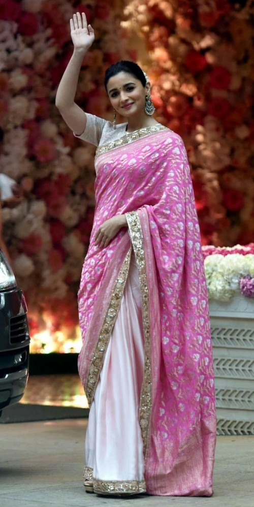 please help me find this saree which Alia is wearing  - SeenIt