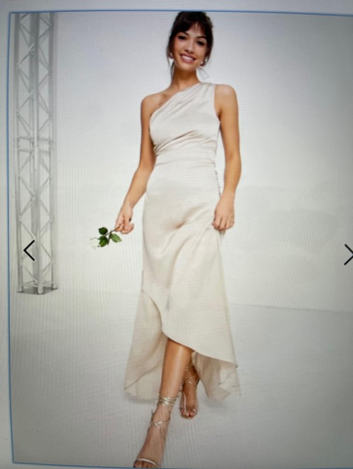 I am looking for a bridesmaid dress similar to this.  - SeenIt