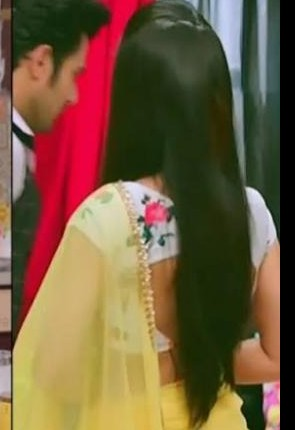 I'm looking for a similar blouse with surbhi jyoti - SeenIt