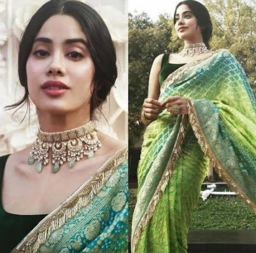 Looking for this saree like jhanvi kapoor - SeenIt