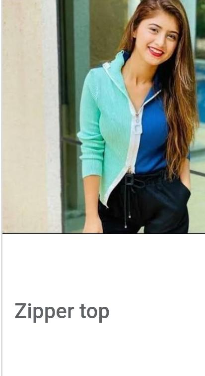 Looking for this zipper top - SeenIt