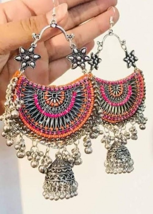 looking for this oxidized earrings - SeenIt