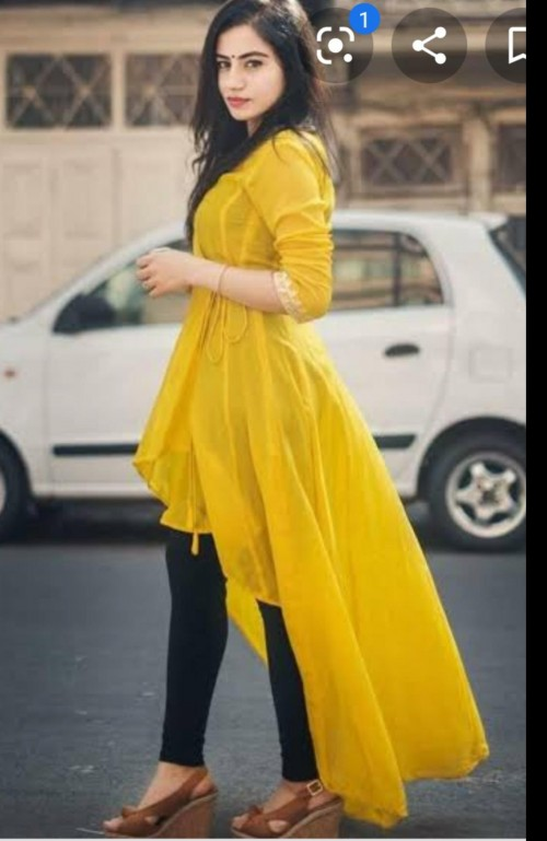 Need a similar yellow updown peplum top with embroidery or work - SeenIt