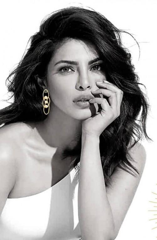Similar earrings that Priyanka Chopra is wearing - SeenIt