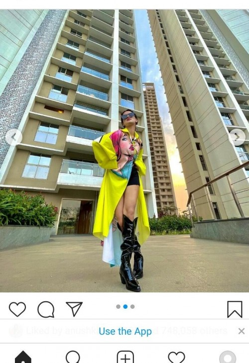 Looking for the exact same large jacket like avneet kaur plz help me to find this - SeenIt