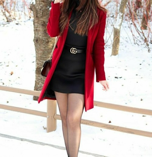 looking for this coat and dress combo - SeenIt