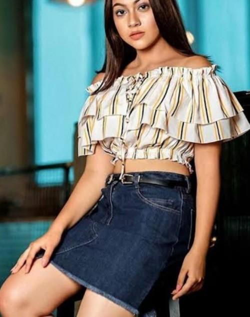 reem shaikh crop top skirt - SeenIt