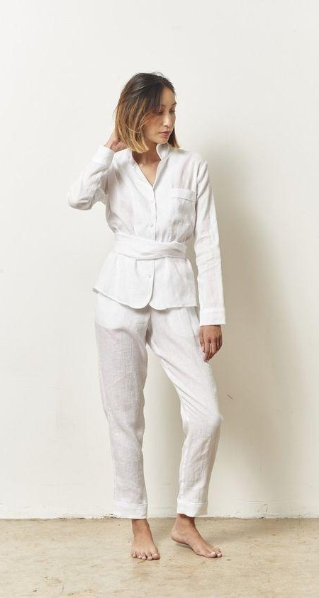 Can you help me find a similar loungewear set but in blue color - SeenIt