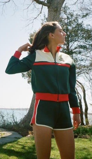 Please help me find a similar green retro sweatshirt - SeenIt