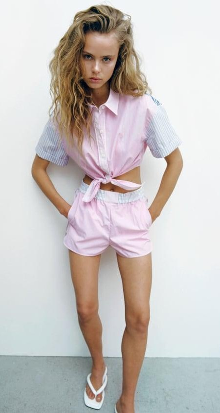 Help me find a similar pink loungewear set, please - SeenIt
