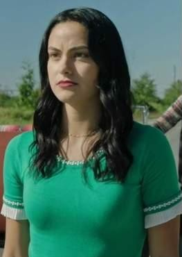 Need a similar green top online like veronica from riverdale - SeenIt