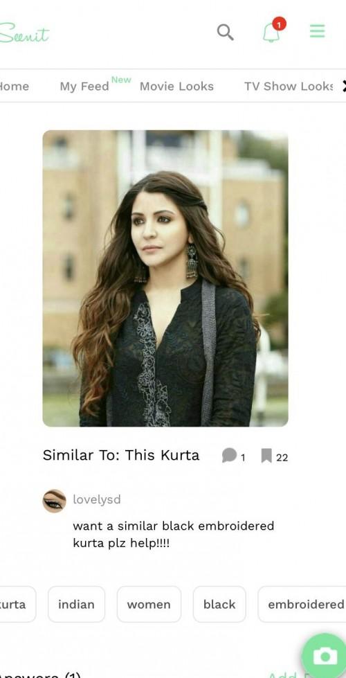 I want same kurta - SeenIt