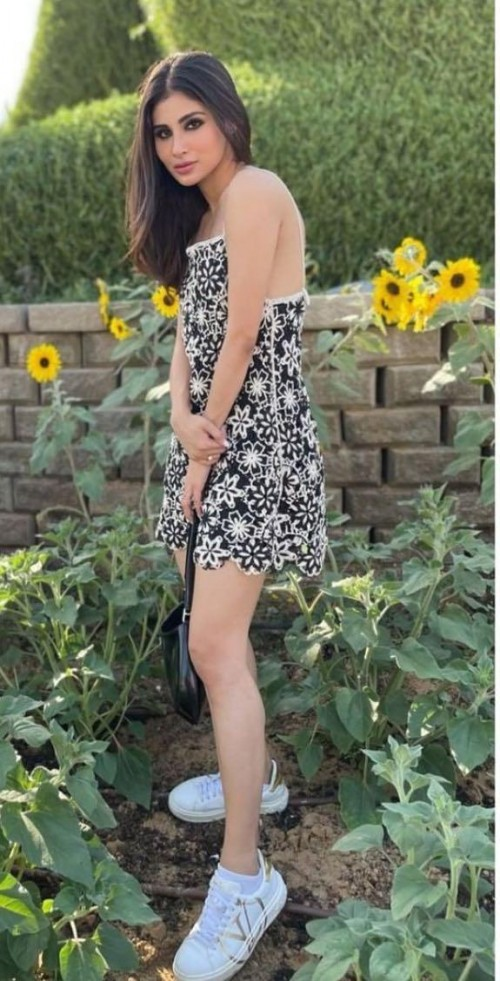 Yay or nay? Mouni Roy seen wearing a black mini dress recently  - SeenIt