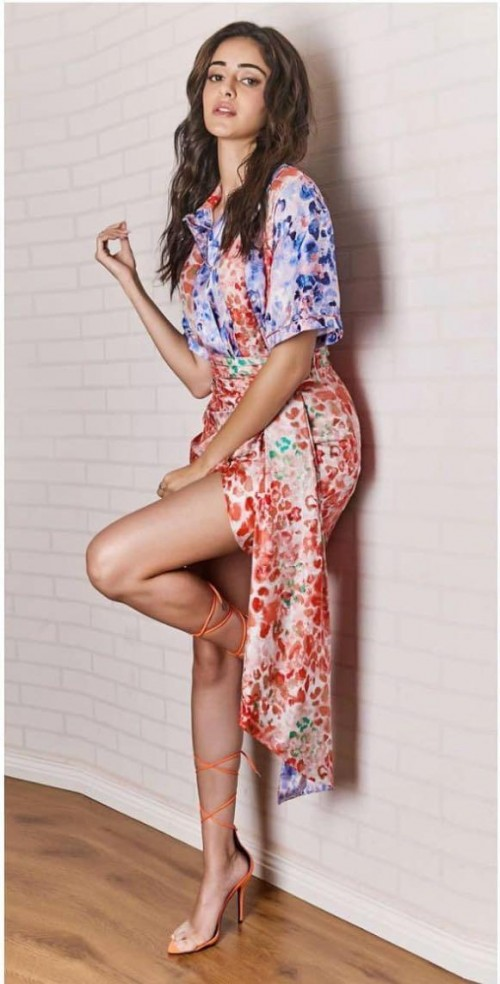 Yay or nay? Ananya Pandey seen wearing a Prabal Gurung skirt and top outfit - SeenIt