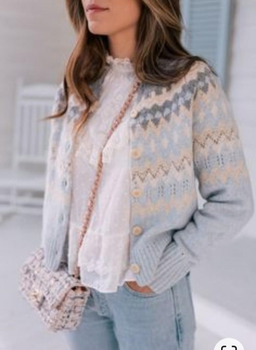 please i want the same top, sweater, jacket and bag - SeenIt