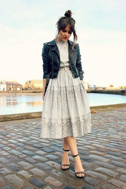 please i want the same dress and jacket and sandals - SeenIt