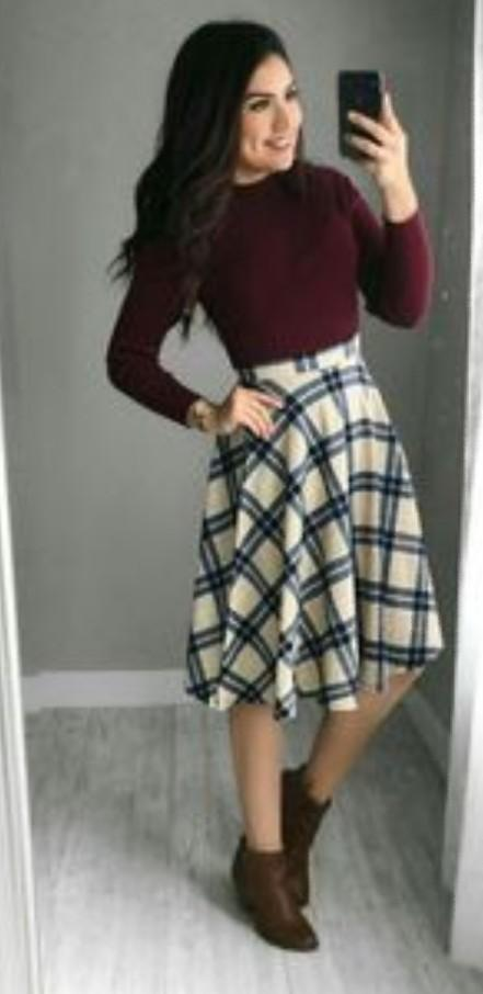 please please please please i want this top, skirt and boots - SeenIt