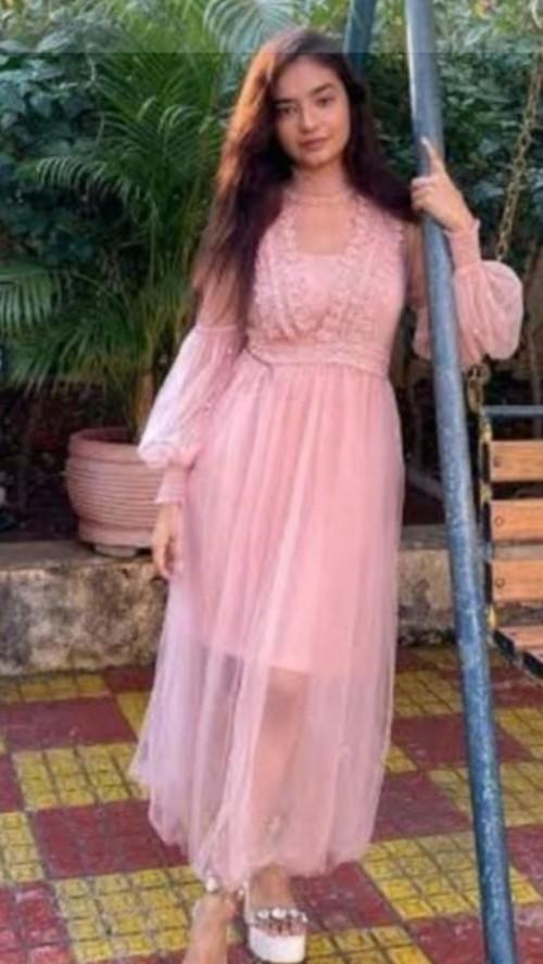 need same dress like anushka shen - SeenIt