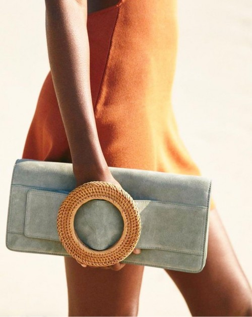 Looking for a similar clutch bag online - SeenIt
