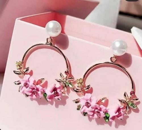 flower jewellery earrings - SeenIt