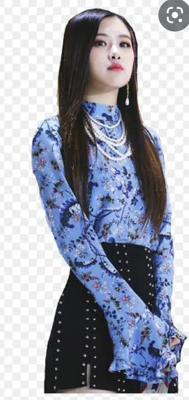 I want a floral top and black skirt like this - SeenIt