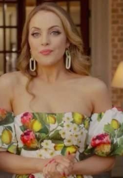 Fallon's similar floral off shoulder dress please - SeenIt