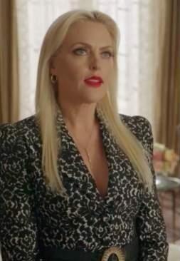 Need a similar black leopard print blazer please - SeenIt