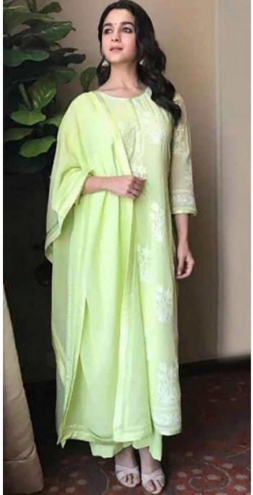 Yay or nay? Alia Bhatt seen wearing a lime green outfit recently - SeenIt