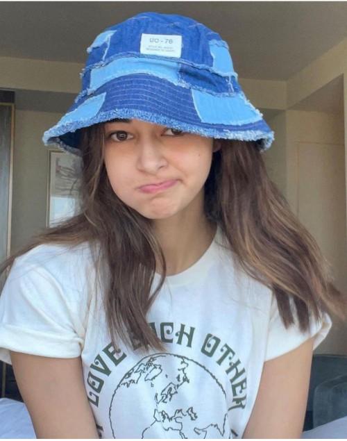 Ananya Pandey's denim bucket hat please - SeenIt