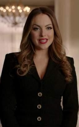 Fallon's black single buttoned blazer please - SeenIt