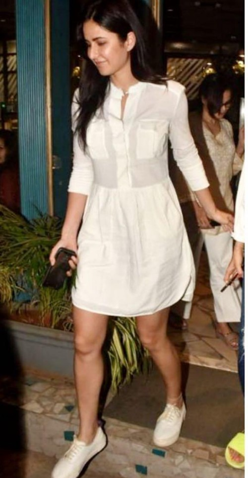 Looking for a similar dress online like Katrina Kaif is seen wearing - SeenIt