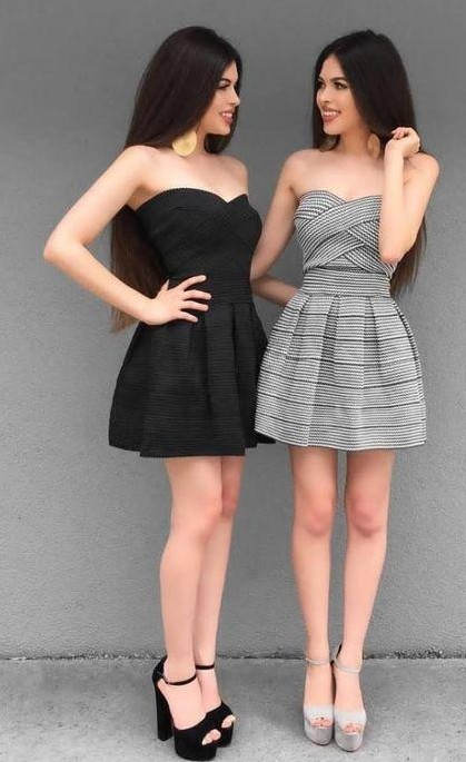 i am looking for the same grey dress and heels - SeenIt