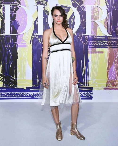 Yay or nay? Cara Delevingne walks the ramp for Dior cruise collection 2022 - SeenIt