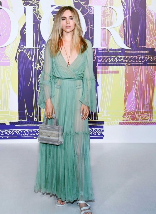 Yay or nay? Suki Waterhouse walks the ramp for Dior crusise collection 2022 - SeenIt