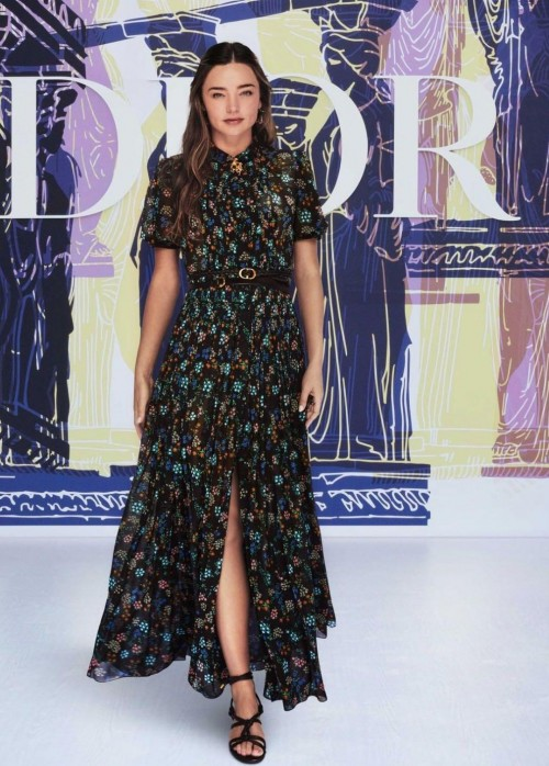 Yay or nay? Miranda Kerr walks the ramp for Dior cruise collection 2022 - SeenIt