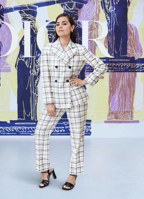 Yay or nay? Jenna Coleman walks the ramp for Dior cruise collection 2022 - SeenIt