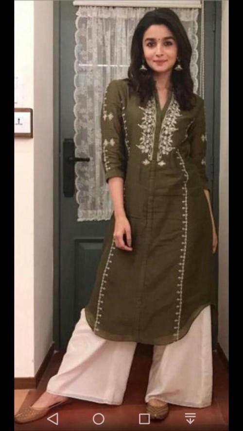 I want same outfit like alia bhatt plz - SeenIt