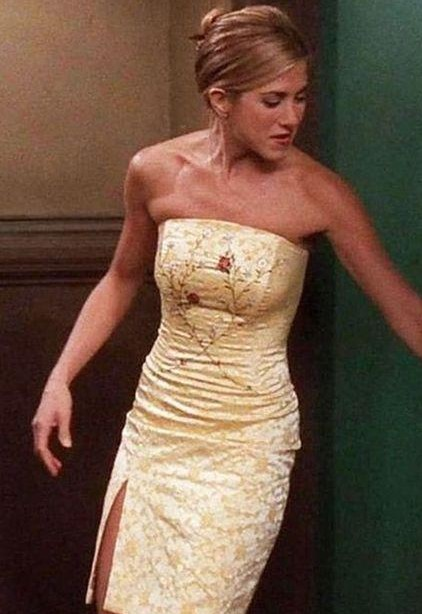 I'm looking for the dress that Racher wore. - SeenIt