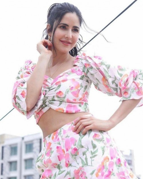 Yay or nay? Katrina kaif seen wearing a floral printed coord set - SeenIt