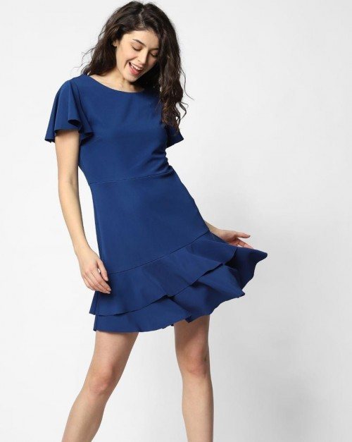 Yay or Nay? How is this blue Fit and Flare Dress? - SeenIt
