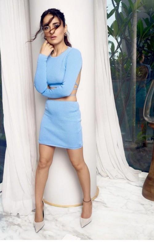 Radhika Madan's similar blue coord set please - SeenIt